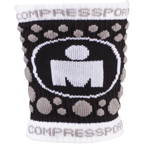 Compressport 3D Dots - Calentadores - Ironman Edition negro